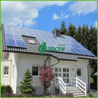 Wholesale 12KW Polycrystalline Commercial House Grid Tie Solar Power Systems from china suppliers