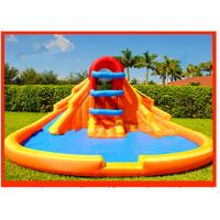 Wholesale Inflatable Minor Wet Slide With Minor Inflatable Family Pool 0.9mm PVC Tarpaulin from china suppliers