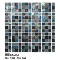 Wholesale KG343 mosaic pattern for swimming pool chip size 20*20/ sheet size 327*327mm from china suppliers