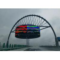 Wholesale High Brightness Roundness P6 Outdoor Full Colour LED Display For Train / Bus Station from china suppliers