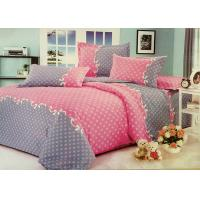 Wholesale Red and Grey Cotton Bedding Sets with Personalized Pillowcases from china suppliers