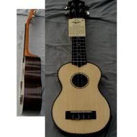 Wholesale Rosewood Back Elliptical 21inch Hawaii Guitar Ukulele with Medium level Rib AGUL21 from china suppliers