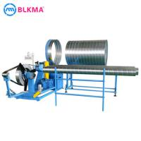 Wholesale BLKMA spiro ducting machine spiral tube former price from china suppliers