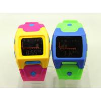 Wholesale Candy Color Outdoor Sport Game Watch , Multifunction Wrist Watch from china suppliers