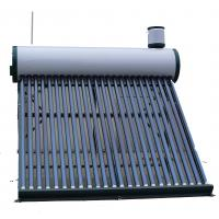 Wholesale Stainless Steel Compact Vacuum Tube Solar Water Heater With Assistant Tank from china suppliers