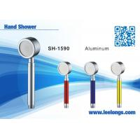 Wholesale Spraying Space Aluminum Alloy Metal Hand Held Shower Head Adjustable from china suppliers
