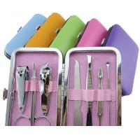 Wholesale Colorful Personal Care Tools Nail Scissors Nail Clippers Kit 6 PCS from china suppliers