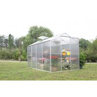 Single Sliding Door Greenhou Compact Walk In Greenhouse For Backyard
