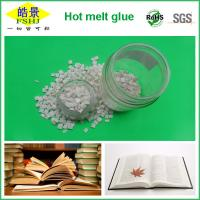 Wholesale Resin Polyester Hot Melt Adhesive For Spine Bookbinding , White Granule from china suppliers