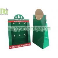 Quality Eco - Friendly Corrugated Cardboard Counter Displays Offset Printing For Christmas Gift for sale