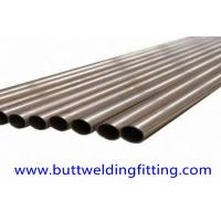 Wholesale Seamless Copper Nickel Tube CU-NI (66/30/2/2) LENGTH 15662MM SIZE 24.4 X 1.2 MM C71640 from china suppliers