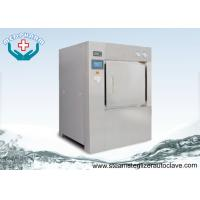 Wholesale Bulk Double Door Laboratory Steam Sterilizer Autoclave 304 Stainless Steel Chamber and Jacket from china suppliers