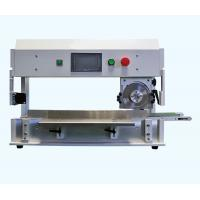 Quality V Groove PCB Depaneling Machine With High Speed Steel Linear / Circular Blades for sale