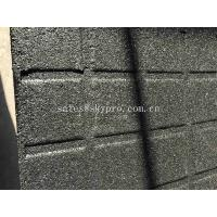 Wholesale High Density EPDM Rubber Paver Mat / Rubber Gym Flooring For Cross Fit Fitness Center from china suppliers