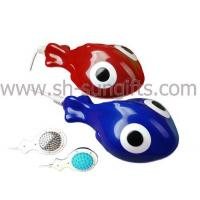 Buy cheap Goldfish mini massager, USB/body/handle/electric massager, promotional gift from wholesalers