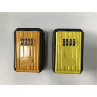Buy cheap 4 Digit Combination Lock Boxes For Keys / Outside Key Safe Box from wholesalers