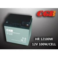 Wholesale 12V 28ah High Rate Rechargeable Vrla Battery , Agm Separator Sealed Deep Cycle Battery from china suppliers