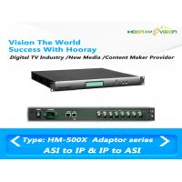 Wholesale 650Mbps ASI IP Multiplexer 24 Channel Scrambler SNMP Remote Monitoring from china suppliers