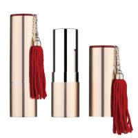 Wholesale Round lipstick case, aluminium lipstick container,with top plate,,lipstick tube,metal lipstick package from china suppliers