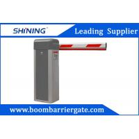 AC Motor Gray telescopic Vehicle Boom  Barrier Gate For Promotion