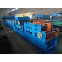 Buy cheap GI Highway Fence Plate Roll Forming Machine,GCR15, 2 /3 Waves 2 Inch Chain Transmission from wholesalers