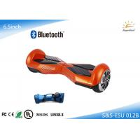 Wholesale 6.5'' 2 Wheel Electric Scooter Mini Scooter Hoverboard with Bluetooth Speaker from china suppliers