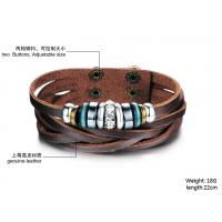 Wholesale 2014 Wholesale fashion jewelry leather braclet hot sales factory priceBR36 from china suppliers