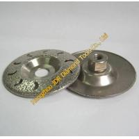 Wholesale Vacuum Brazed diamond grinding disc from china suppliers