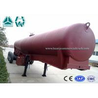 Wholesale 6mm Steel Sheet Cement Tanker Trailer 3 Axle , Low Density Cement Powder Trailer from china suppliers