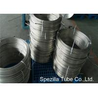 Wholesale Instrumentation Stainless Steel Coil Tubing , ASTM A213 TP304 Polished Stainless Steel Pipe from china suppliers