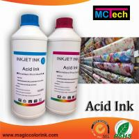 Wholesale Acid dye inkjet ink for digital textile printer from china suppliers