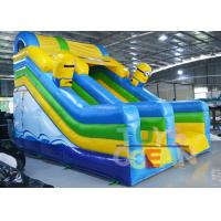 Wholesale Custom Large Minions 3 Lanes Slide Inflatable Toboggan Playground For Kids from china suppliers