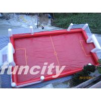 Wholesale Customize Airtight Inflatable Soccer Field With Pillar And Net from china suppliers
