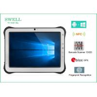 Wholesale 10'' NFC 1D 2D Scanner RFID Tablet PC , 3G 4G Window 10 Home Tough Tablet Computer from china suppliers