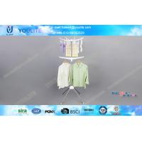 Wholesale Stainless Steel Metal Coat and Hat Rack / Clothes Hanging Racks for Socks and Shirt from china suppliers