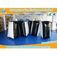 Wholesale 0.6mm PVC Tarpaulin Black And White Inflatable Blocker For Funny Sport Games from china suppliers