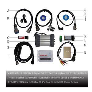Quality OBDII C3 / C4 Super MB Star Internet Mercedes Benz Auto Diagnostics Tools for sale