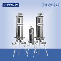 """Wholesale 10"""" Microporous Cartridge Pipeline Filter Single Core SS316L Clamp Type from china suppliers"""