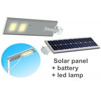 Wholesale 60w Outdoor Led Street Light With Solar Panel For Road Lighting from china suppliers