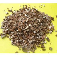Quality Vermiculite  layer structure of magnesium aluminum silicate secondary water metamorphic minerals   2)Impurity: 10% for sale