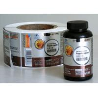 Wholesale Multi Color Medicine Bottle Label With Anti - Dirty Glossy Lamination from china suppliers