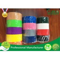 Wholesale Multi Color Adhesive Cloth Duct Tape For Masking / Decoration from china suppliers