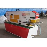 Wholesale Ironworker punches , Hydraulic ironworker machine for I beam shear , angle shear from china suppliers