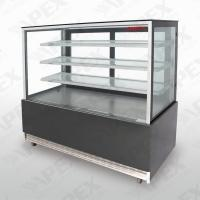 China Square Three Shelf Stainless Steel Bakery Showcase Refrigerator For Cake Display on sale