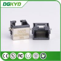Wholesale Shield right angle extra low profile rj45 ethernet connector, 8p8c jack from china suppliers