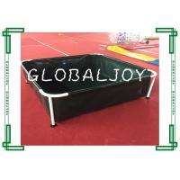 Wholesale 1.7x1.7m Metal Frame Swimming Pool For Backyard , Portable Rectangular Frame Swimming Pool from china suppliers