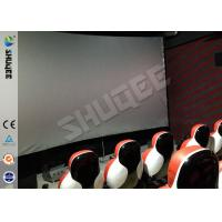 Buy cheap Unimaginable Simulator Game Machine Luxury Pneumatic/Hydraulic/Electric Theater Chair Theater Seat from wholesalers