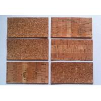 Wholesale 2''*5'' Cork Fabric with TC material from china suppliers
