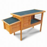 Wholesale Rabbit Cage, Made of Chinese Fir Wood, Measures 120 x 45 x 70.2cm from china suppliers