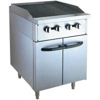 Wholesale Stainless Steel 380V Gas Lava Rock Grill With Cabinet 12KW For Kitchen Equipments from china suppliers